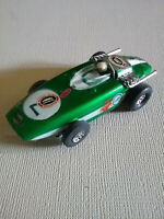Vintage Tyco HO Scale Green slot car - From My Childhood Collection
