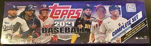 Topps MLB Baseball Trading Card Complete Factory SEALED Target Set 2021