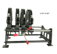 Butt Fushion Welding Machine 4 Clamps Pipe Fusion Welder 110v 90 250mm