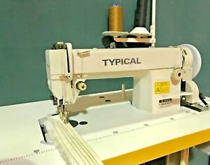 TYPICAL 0303 WALKING FOOT INDUSTRIAL SEWING MACHINE WITH SILENT MOTOR COMPLETE