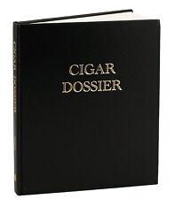 Cigar Dossier Personal Cigar Journal Aficionado NEW
