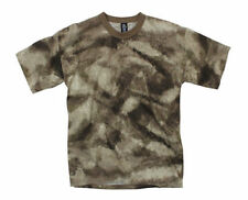A-TACS AU Short Sleeve Camo T-Shirt By Rothco 5965 / Made in the USA
