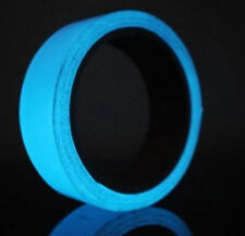 Glow in the Dark Waterproof tape - Sky Blue Glowing for Signs Crafts etc
