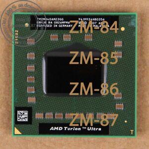 AMD Turion x2 Ultra Dual-Core ZM-84 ZM-85 ZM-86 ZM-87  Socket S1 Processor