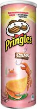 Pringles chips with crab flavor, special Russian flavor! 165 g.
