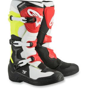 45 EU, Nero WinNet Stivali per Moto da Cross Enduro Fuoristrada Quad