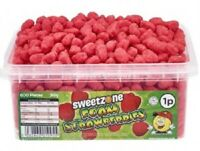 Foam Strawberries Sweets Candy Favours Kids Celebration Party HALAL HMC 960g