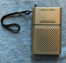 Vintage Realistic Crystal Controlled Weatheradio 12-151A