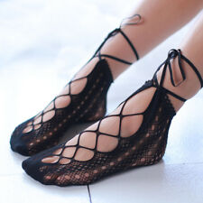 a108c8c15 New Fashion Hollow Out Transparent Lace Fishnet Socks Women Japan Princess  Socks