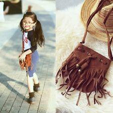 Children Kids Princess Girls Tassel Handbag Baby Women Shoulder Messenger Bags