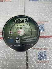 playstation 3 ps3 fallout 3 game disc only tested