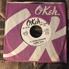"TOMMY TATE ""A Lover's Reward /Big Blue Diamonds"" Northern Soul DJ OKEH 7253 NM-"