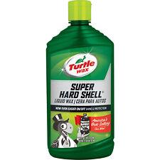 Turtle Wax SUPER HARD SHELL • LIQUID WAX Shine & Protection • PERFORMANCE PLUS