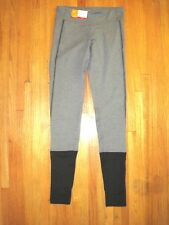 Women's Gray/Black C9  Duo Dry Stirrup Foot Fitness Yoga Tights Size Small NWT