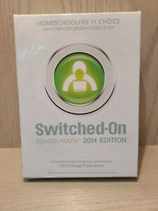 2014 Switched on Schoolhouse 9th Grade English 1 SOS Language Arts I grade 9 NEW