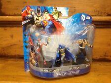 DC Comics Batman, Harley Quinn & Bane 10cm Mini Figure 3-Pack *Brand New*