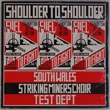 SHOULER TO SHOULDER: South Wales Striking Miners / Test Dept. EXPERIMENTAL LP