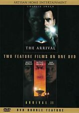 The Arrival 1 & 2 Charlie Sheen DVD R1