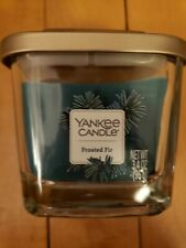 Yankee Candle Elevation Collection Frosted Fir Jar Scented Christmas Tree 3.4 oz