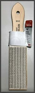 File Card Cleaner Wire Bristle Brush Nicholson 21455 Made in USA
