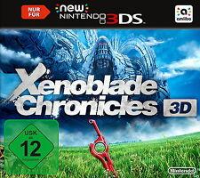 Xenoblade Chronicles 3D (New Nintendo 3DS, 2015, Keep Case) - Neuwertig