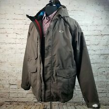OAKLEY ICON Men's Ski Snowboard Jacket Loose Fit Thinsulate Brown Medium