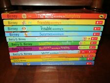 Lot Of 11 The World According to Humphrey Series Betty Birney - hamster
