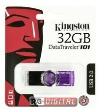 PEN DRIVE 32 GB CHIAVETTA USB KINGSTON DATATRAVEL DT101G2 32GB PENDRIVE USB 2.0