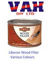 Liberon Wood Filler 125ml Choose from Antique Pine, Neutral, Dark Oak, Mahogany