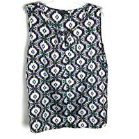 The Limited womens black shirt size L Large tank top geometric sleeveless casual