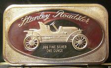 1974 STANLEY ROADSTER 1 Troy Ounce .999 Fine Silver Bar