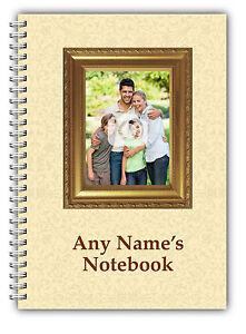 Personalised A5 Softbacked Notebook Notepad Upload Photo