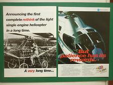 2/1997 PUB EUROCOPTER EC120 HELICOPTER HUBSCHRAUBER ORIGINAL AD
