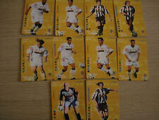 LOTE 10 CARDS FOOTBALL CHAMPIONS 2002-03 2003 FC JUVENTUS VENDO SINGOLA
