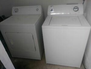 Whirlpool Washing Machine and Dryer - Model Wtw5100sq0 and Ler4634jq0-pickup NC