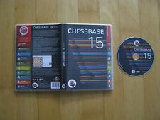 Chessbase 15 Wissen ist Matt 8 Million games DVD-Rom 2018