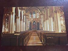 Interior St. Helena's Cathedral Helena Montana MT Postcard ID#598