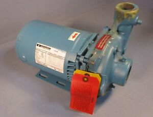 "Mepco RC05-12-020-34-3 Centrifugal Pump 4.87"" Impeller Dia w/ Marathon 2 HP 3 Ph"