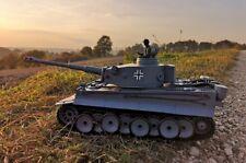 RC Kampfpanzer DEUTSCHER TIGER 1 Schussfunktion ferngesteuerter Panzer NEU