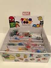 MARVEL TSUM TSUM SERIES 1 & 2 Mystery Pack Lot of 15 and Store Display - VHTF!!!