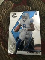 2020 Panini Mosaic Base Rookie Card Lions D'AnDre Swift NO. 215