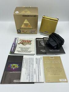 Nintendo - Gameboy Advance SP - Zelda Edition - OVP - AGS-001 - Sammler
