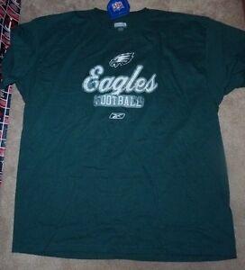NEW NFL Philadelphia Eagles T Shirt Men XL X-Large Reebok (measures big) NEW NWT