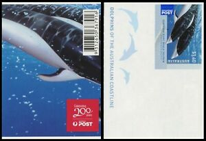 2009 Dolphins of the Australian Coastline - $1.40 Dolphin Sheetlet Single Stamp