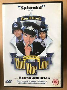 Thin Blue Line Seasons 1 + 2 DVD Box Set Ben Elton Comedy Cop Complete Series