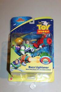 TOY STORY 2 BUZZ LIGHTYEAR BAZOOKA ACTION FIGURE 2000 NOS MISP MISB MOC Disney
