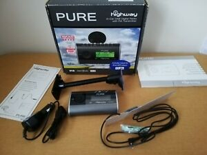 PURE Highway in-Car DAB Digital Radio with FM Transmitter NEW BOXED