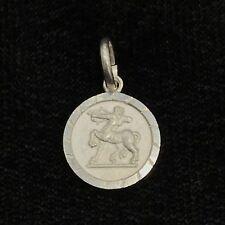 NEW Sagittarius Sterling Silver Zodiac Pendant Star Sign 925 Horoscope Charm