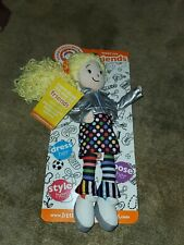 "ANGELA Little Miss Matched 14"" Rag / Plush Doll - yellow Yarn Hair NEW"