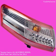 Toyota Camry HYBRID 2010 2011 Tail Light Left Hand Side LH LED HV40 Outer Lamp